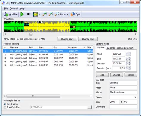 download mp3 cutter software for windows xp easy mp3 cutter heise download