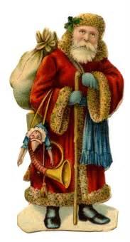Victorian santa claus this victorian santa has a