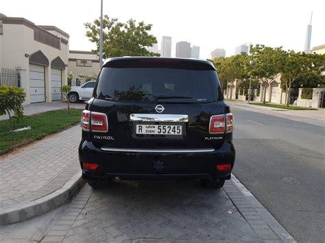 nissan patrol 2016 black 2016 nissan patrol platinum black edition aed180 000