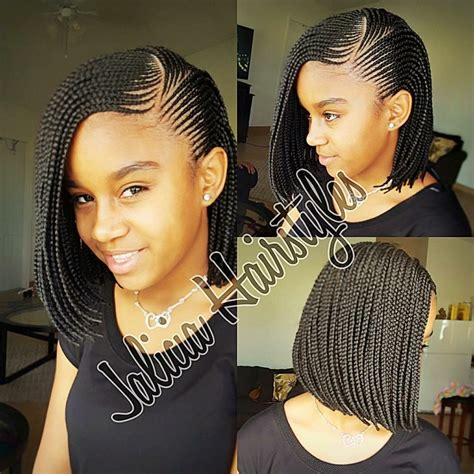 nigerian unique plaiting lines cute braided bob hair inspiration pinterest bobs