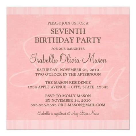 children s 7th birthday invitation wording 7th birthday invitation wording this invitation for free at https www