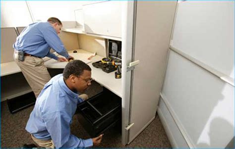 Office Installation Reconfiguration Projects In One Day Office Furniture Installation