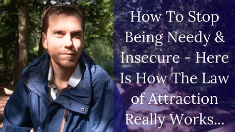 discover   stop  needy  insecure