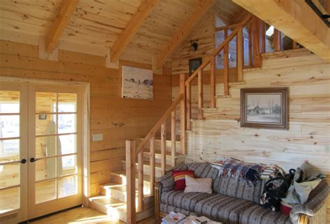 comlog cabin homes interior crowdbuild for