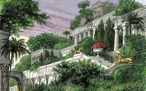 The Hanging Garden the real site of the hanging gardens of babylon alternative
