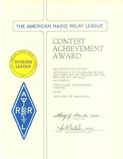 Virginia Sweepstakes - contest awards w4bfb mars