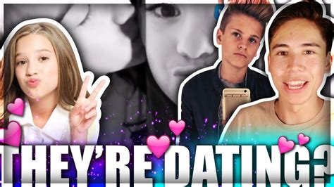 mackenzie ziegler boyfriend mackenzie ziegler and mark thomas confirmed who is