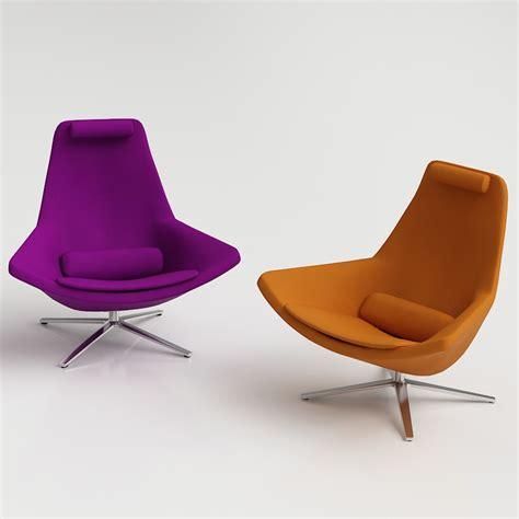 b b armchair b b italia metropolitan armchair 3d model famous models