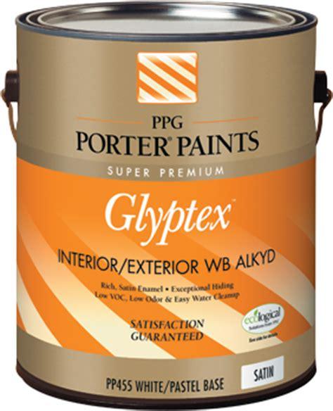 glyptex enamelwb paint  ppg porter paints