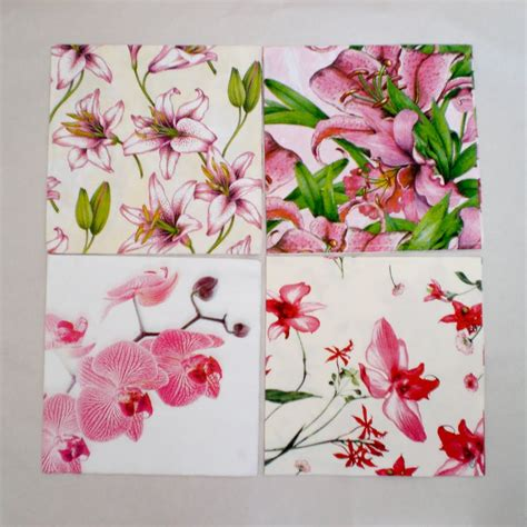 Using Napkins For Decoupage - decoromana paper napkins for decoupage also known as a