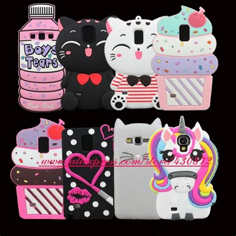 Silicon Casing Softcase Marble Samsung S3 S4 S5 3d silicon cupcake cat lip unicorn minnie soft cover for samsung galaxy s3 s4