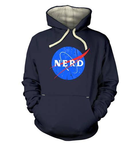 nasa logo hoodie premium