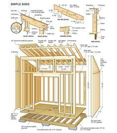 guide free lean to shed design nosote 1000 images about diy woodworking small storage building