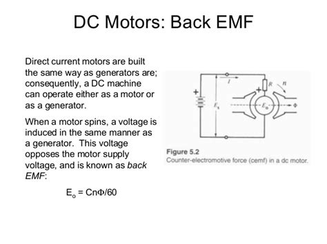 inductor back emf protection back emf in a series 28 images why the supply voltage of dc motor decreases when the motor