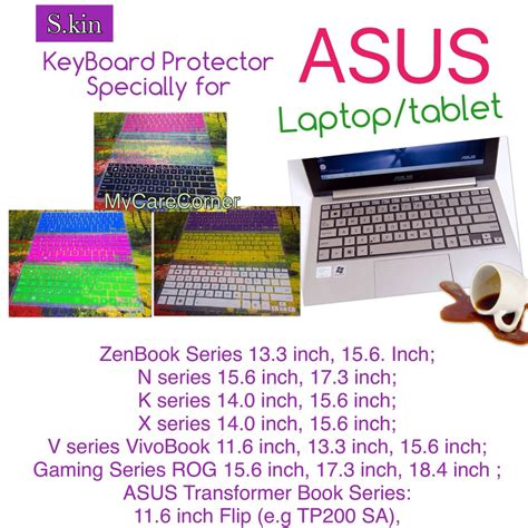 Keyboard Protector Asus Rog by Asus Laptop Keyboard Protector For Zenbook Rog Vivobook