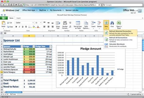 What Is Excel Pivot Table by Office Web Apps Tech Preview Slide 8 Slideshow From