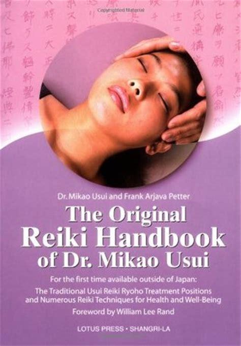 original reiki handbook  dr mikao usui