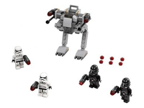 Lego Starwars 75165 Imperial Trooper Battle Pack peek at the new lego wars 2017 sets