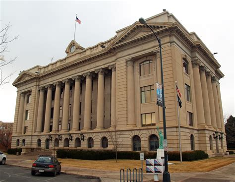 County Court House by Colorado County Courts