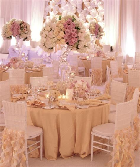 7 Gorgeous Blushes by Beautiful Ivory And Blush Pink Table Wedding Flowers