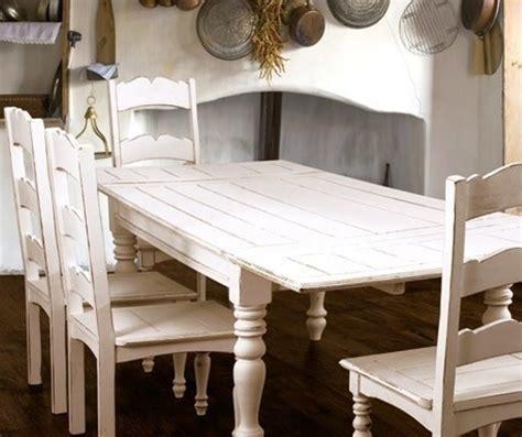 tavoli stile shabby tavolo bianco shabby chic allungabile mobili provenzali