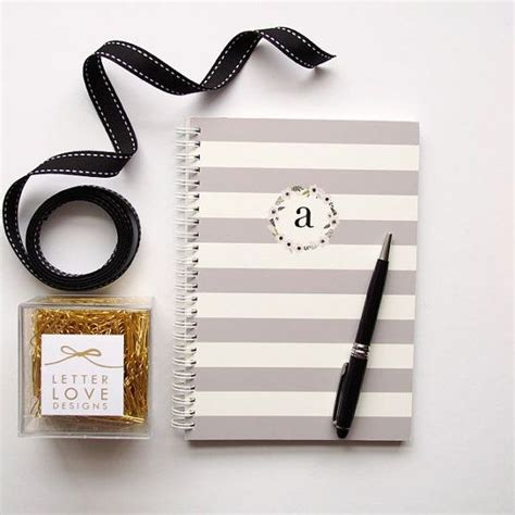 Personalized Notebook 2 appledale designs