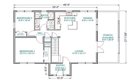 Cabin Floor Plans With Loft Home Floor Plans Simple Cabin