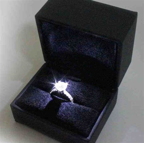 engagement ring box with light 50 best unique engagement ring boxes images on