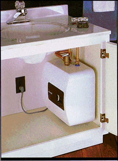 Point of Use Water Heater Installation