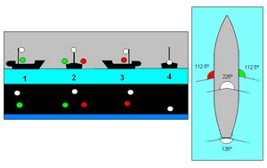 what color is a boat s sternlight navigation light wikipedia