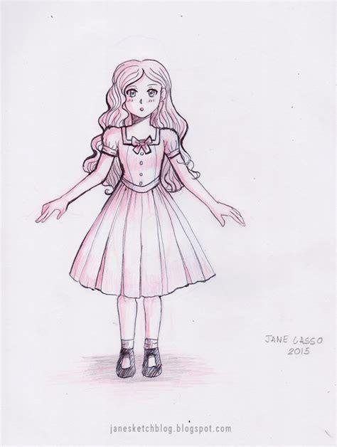 como dibujar vestidos fotos dibujo de chica manga manga drawings paintings