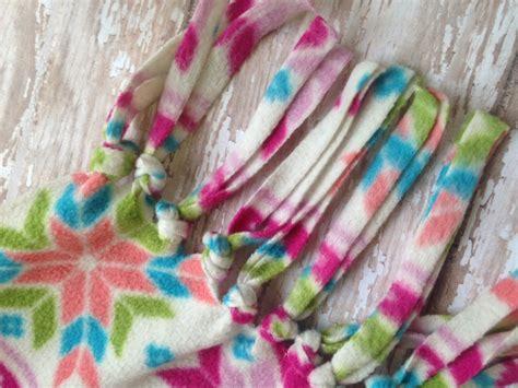 no sew fleece scarf the neighborhood