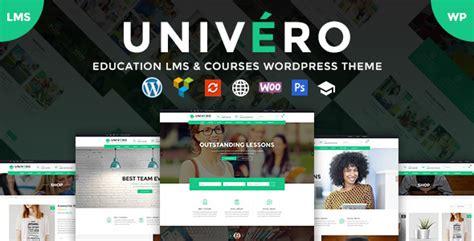 themeforest lms univero v1 0 0 education lms courses wordpress theme