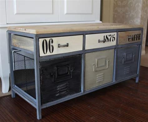 metal locker storage bench metal industrial locker style storage bench wooden green