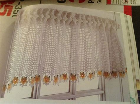 free crochet window curtain patterns 17 best images about valances on pinterest valance