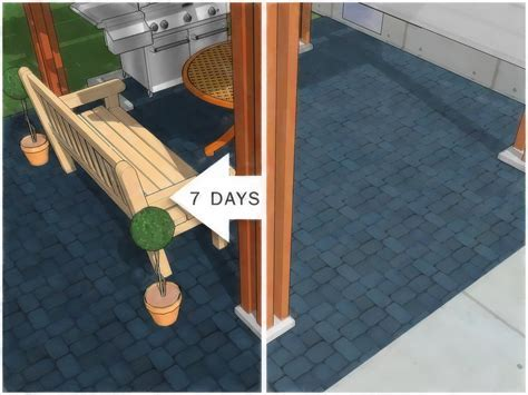 How to Paint an Outdoor Concrete Patio (with Pictures