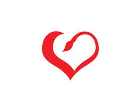 design logo heart 52 creative exles of heart inspired logo designs
