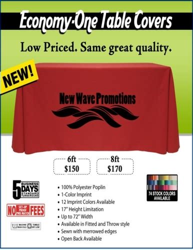 cutlery corner promo code economy one thermal transfer table covers