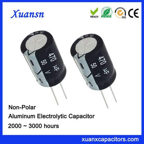 electrolytic and non electrolytic capacitor difference 470uf 50v non polarised capacitor electrolytic