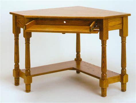 solid oak corner computer desk amish made corner computer desk in solid oak clayborne s