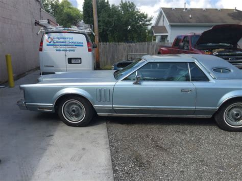lincoln jubilee for sale 1978 lincoln continental v jubilee edition