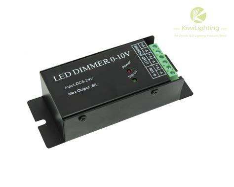led dimmer for 3528 5050 led strip 0 10v analog signal dc5