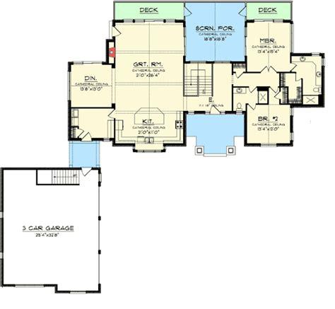 split bedroom ranch with bonus 3653dk 1st floor master ranch floor plans with bonus room split bedroom ranch