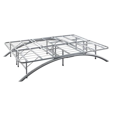 Contemporary Platform Bed Frame Size Contemporary Metal Platform Bed Frame With Arched Legs Ebay