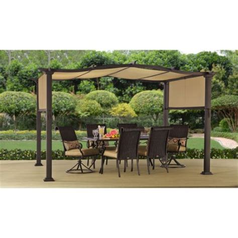 8x10 Outdoor Gazebo Better Homes And Gardens Emerald Coast 12 X 10 Steel