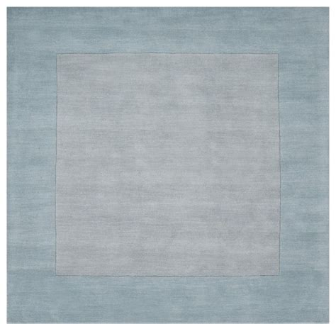 solid blue area rug solid striped mystique square 8 square light blue area rug modern rugs by rugpal