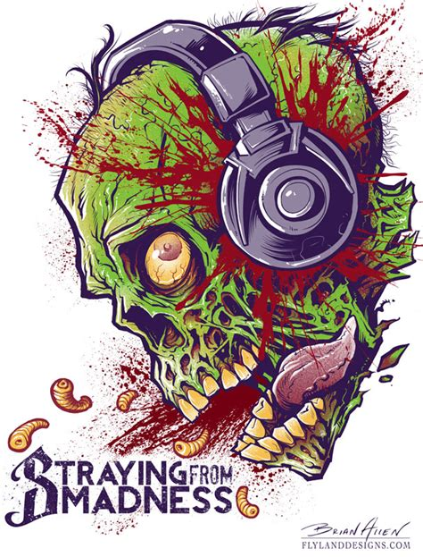 zombie design inspiration dark illustrations by brian allen