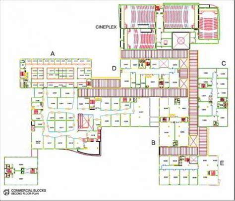 city shopping centre floor plan city centre salt lake second floor plan architecturelive