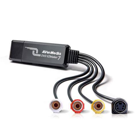trasferire cassette vhs su pc avermedia c039 dvd ezmaker 7 convert vhs 8mm hi8 to dvd