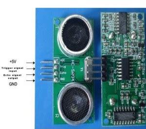 Sensor Jarak Ultrasonic Range Finder Hc Sr04 motor 171 delta electronic articles